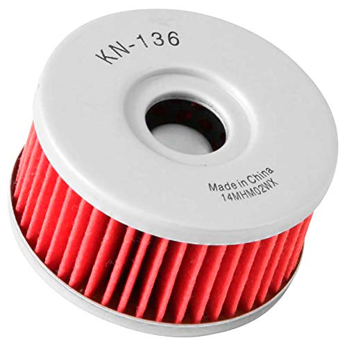 (K&N KN-137 Suzuki High Performance Oil Filter)