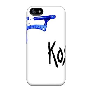 JSu1626onAT Tpu Phone Case With Fashionable Look For Iphone 5/5s - Korn Wallpaper