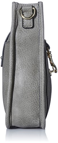 SHOULDER WYLIE OUTSIDE STUDS FUNCTIONAL CROSSBODY WITH STEVE LEATHER Grey STRAP POCKET NON AND WITH MADDEN WOMEN HANDBAG FxqwZ7zE