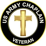 Amazon army chaplain corps insignia shaped sticker logo decal 55 us army christian chaplain veteran decal sticker thecheapjerseys Gallery