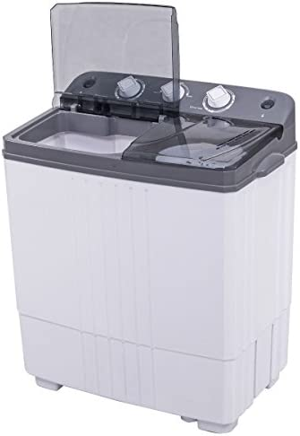 Top Portable Load Clothes Laundry Washing Machine Dorm RV Washer Spin Dryer Set