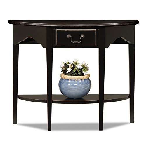 Leick 9036-SL Favorite Finds Console Table, Slate