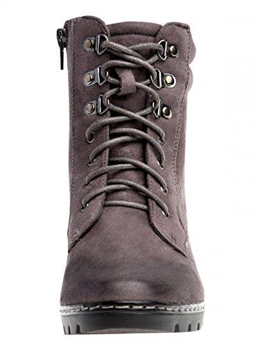 SBO055 Womens Ankle Vintage Boots Dark Grey ggHq6Snpx