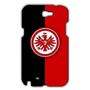 Custom Design FC Eintracht Frankfurt Theme Football Club Logo Phone Case Cover For Samsung Galaxy Note 2 3D Plastic Phone Case