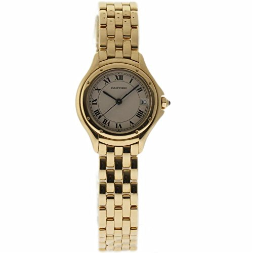Cartier Cougar swiss-quartz womens Watch 887921 (Certified Pre-owned)