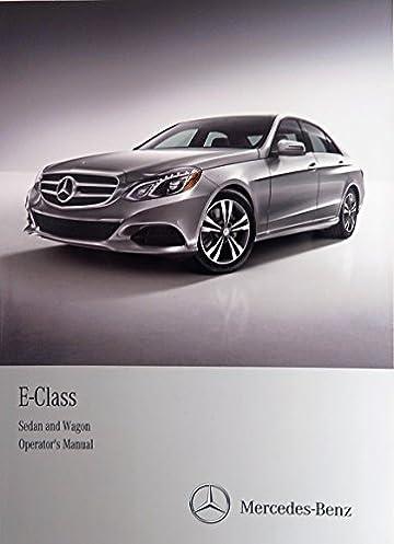 2014 mercedes e250 e300 e350 e550 e63 amg sedan wagon owner s manual rh amazon com Mercedes E550 AMG 2007 mercedes benz e550 owners manual