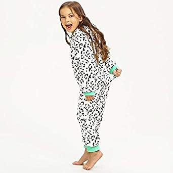 Lurryly❤Family Matching Pajamas Set Cartoon Patchwork Top Plaid Pants Outfits Vacation Clothes Sleepwear Pjs