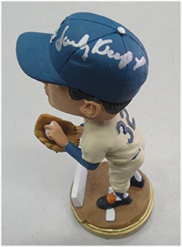 Sandy Koufax Hand Signed Autographed SGA Bobble Head 2012 LA Dodgers JSA Letter (Koufax Signed Framed Sandy)