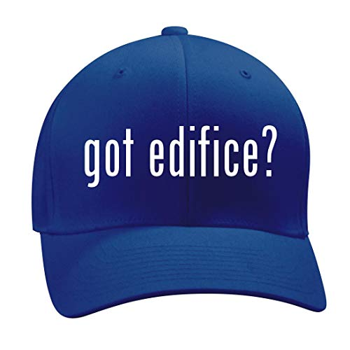 got Edifice? - A Nice Men's Adult Baseball Hat Cap, Blue, Small/Medium by Shirt Me Up