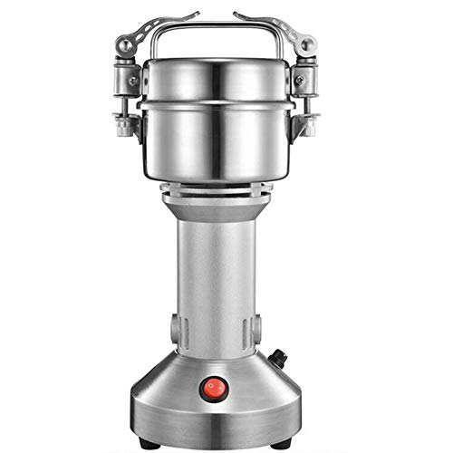 Electric Grain Mill Spice Herb Coffee Grinder Stainless Steel Grain Grinder -