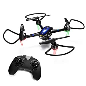Drones for Beginners and Kids – Long Flight Time Bright LED RC Drone Quadcopter Gifts for Boys or Girls, Indoor Helicopter Light Up Toys