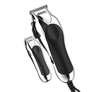 Wahl Clipper Combo Pro, Complete Hair and Beard Clipping and Trimming Kit, Includes Quality Clipper with Guide Combs, Cordless Trimmer, Styling Shears, for A Cut Every Time – Model 79524-5201