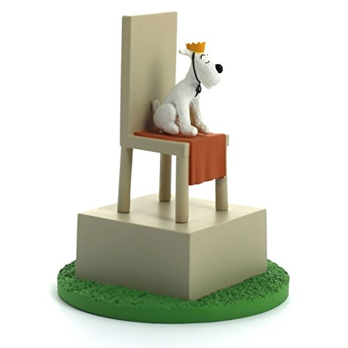 Figurine Coffret de collection Tintin Le Roi Milou sur son trô ne 43104 (2011) Moulinsart