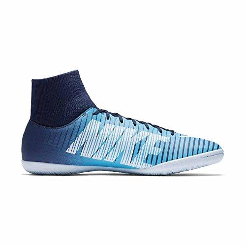 Nike Herren MercurialX Victory VI DF IC Fußballschuhe OBSIDIAN/WHITE-GAMMA BLUE-GAMM