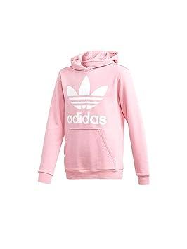 adidas DJ2167 Sudadera, Niños, Rosa / (Light Pink/White), 128 (7/8 años): Amazon.es: Deportes y aire libre