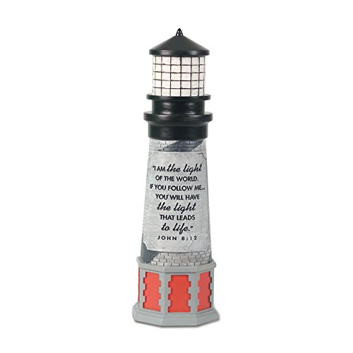 Langford Four Light (Lighthouse Christian Products I am The Light Sculpture, 2 1/4 x 8 1/2