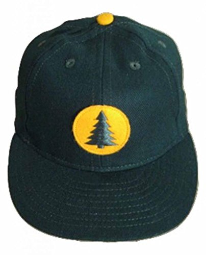 Ideal Cap Co. Maine Central Railroad Vintage Baseball Cap 1954 7 1/8 Spruce/Gold (Ideal Cap Company compare prices)