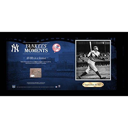 Babe Ruth Framed (Babe Ruth Breaks Major-League Record 60th Home Run 10x20 Collage w/ Old Yankee Stadium Brick)