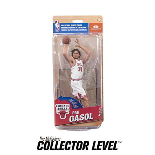 Chicago Bulls NBA Series 27 Action Figure: Pau Gasol (MVP Level Variant)