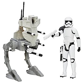 Hasbro - B3919 - Star Wars - Assault Walker & Riot Control ...