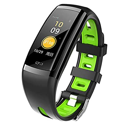 Lbyhning Fitness Trackers Fitness Tracker sport Watch Smart Wristband With Heart Rate Sleep Monitor Calories Waterproof Pedometer for Android IOS Estimated Price £55.99 -