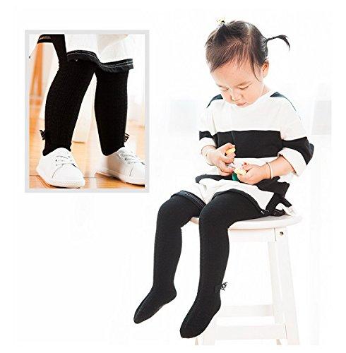 Hiver Collants Automne Chaud Pour Enfant Fille Bébé Doux Ahatech Noir Et wfPEdqTx