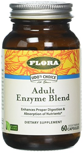 Udo's Choice - Adult Enzyme Blend Capsules - 60 count