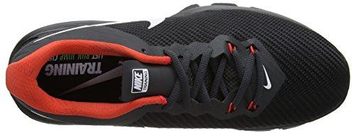 NIKE Mens Air Max Full Ride TR 1.5 Training Shoe Black/White/Anthracite/Max Orange AP3VItzNYc
