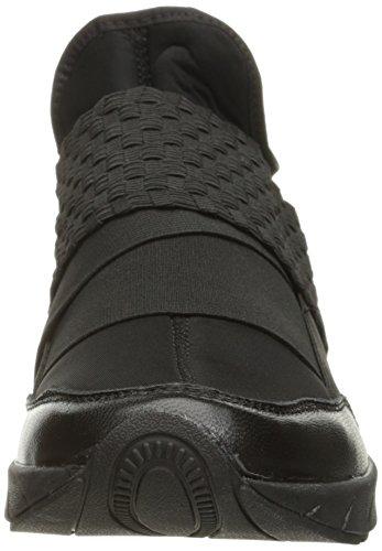 Bernie Mev Womens Razer Fashion Sneaker Black