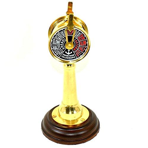 "Eve.Store Maritime Nautical Brass Ship Telegraph 6"" Antique Ship"