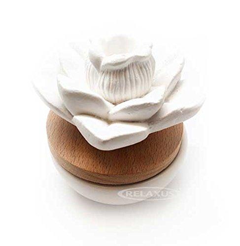 Relaxus Lotus Flower Ceramic Aroma Diffuser -