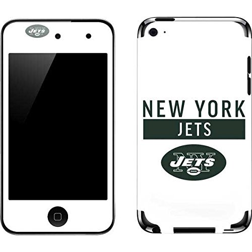 Skinit NFL New York Jets iPod Touch (4th Gen) Skin - New York Jets White Performance Series Design - Ultra Thin, Lightweight Vinyl Decal Protection (Ipod Skin York Jets New)