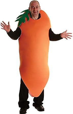 Struts Fancy Dress Disfraz Adulto Zanahoria Graciosos: Amazon.es ...