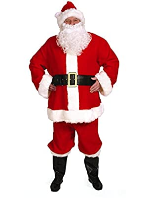 Halco Complete Santa Suit Adult Costume