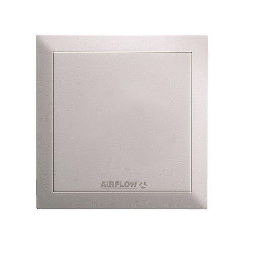 Preempci/ón Quietair 90000454/pared extractor ventilador silencioso, 10/W, 230/V, color blanco, 150/mm