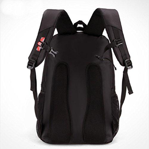 Baymate Mochila para Portatil / Notebook / Ordenador / PC Mochilas Escolares Backpack Laptop para Hombres y Mujeres 14 Pulgada Negro