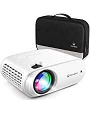 VANKYO Cinemango 100 Projector for Outdoor Movies, 4500Lux Mini Projector with 1080P Supported, 220'' Display, 55,000 Hours LED Lamp Life, Compatible with HDMI/TV Stick/TV Box/PS4 for Entertainment