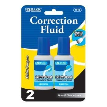 DDI 311154 BAZIC 20ml - 0.7 fl. oz. Correction Fluid Case Of 144