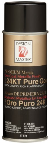 Design Master No.240 24-Carat Pure Gold Metallic Spray