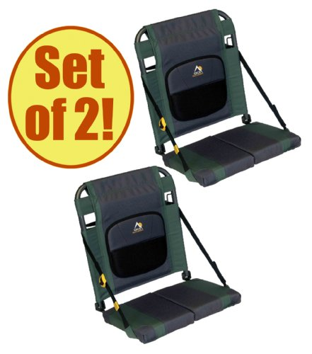 Set of 2 – GCI Outdoor SITBACKER Canoe Seat, Outdoor Stuffs