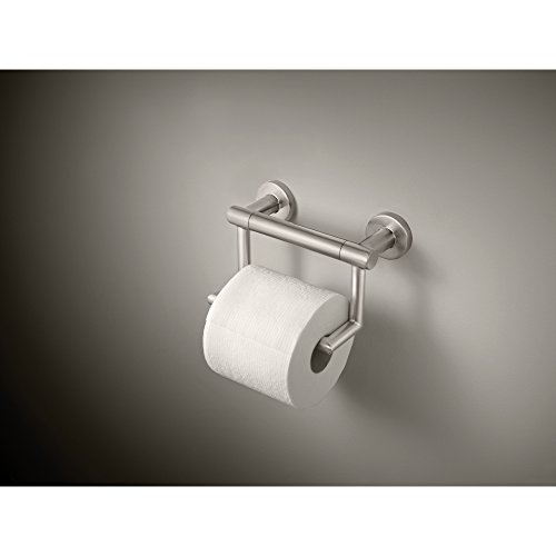 Delta Faucet 41550-SS Contemporary Tissue Holder/Assist Bar, Stainless by DELTA FAUCET (Image #2)