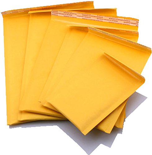 Ablemailer 8.5x12-Inch Kraft Bubble Self Seal Padded Envelopes (Pack of 100) by AbleMailer