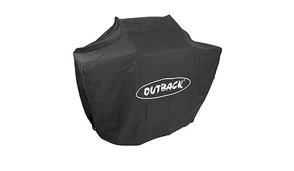 Outback - Cubierta para barbacoa Trooper y Spectrum de 2 quemadores con capucha: Amazon.es: Jardín