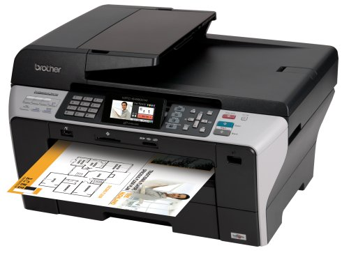 Amazoncom Brother MFC6490CW Wireless AllinOne Inkjet Printer