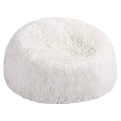 FIBRE by Auskin Tibetain Lambskin Bean Bag Chair -