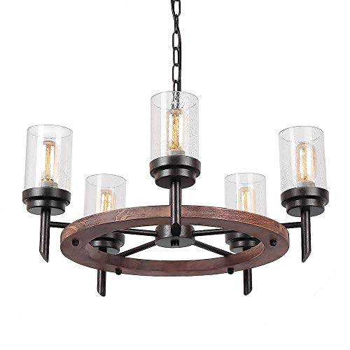 Rustic Star Pendant Light in US - 4