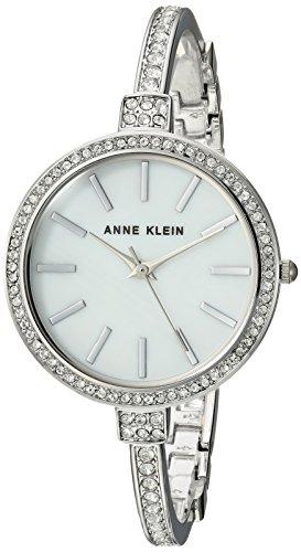 Anne Klein Women's AK/2847SVST Swarovski Crystal Accented Silver-Tone Watch and Bangle Set by Anne Klein (Image #2)