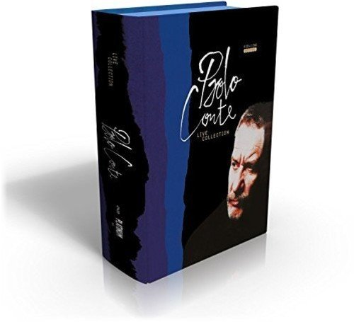 CD : Paolo Conte - Live Collection (6cd+ Pal/ Region 2) (With DVD, Boxed Set, Italy - Import, Pal Region 2, 7PC)