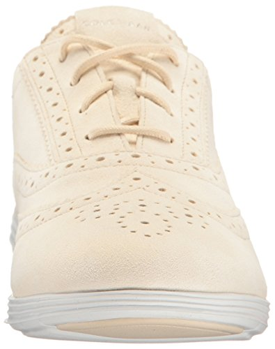 Cole Haan Womens Grand Tour Oxford Sandshell / Blanc Optique