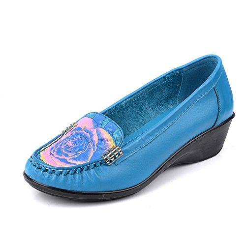 Zapatos de otoño/Zapatos de las señoras del/Mamá y fondo suave zapatos D